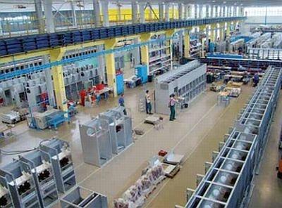 Hala produkcyjna firmy ELEKTROBUDOWA SA w Koninie