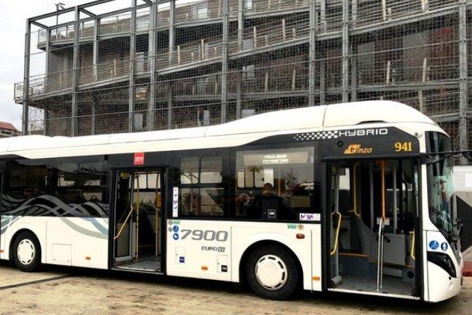 Autobus elektryczny Volvo Hybrid w Koszalinie Fot. Volvo Buses