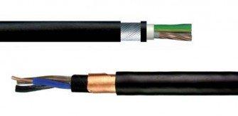 Kable elektroenergetyczne opancerzone