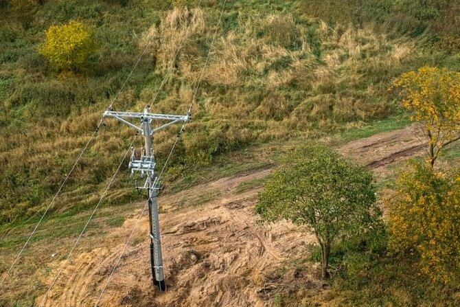 Drony i śmigłowce wsparciem dla linii energetycznych Fot. Enea