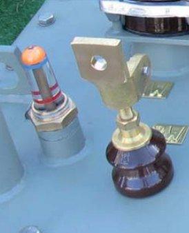 Fot. 1. Olejowskaz – wskaźnik poziomu oleju w transformatorach hermetycznych