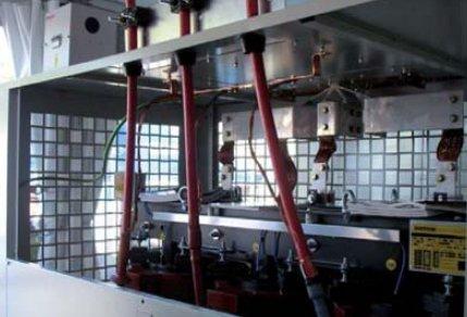 Fot. 6. Przykładowe rozwiązanie obudowy dla transformatora suchego żywicznego