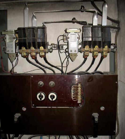Przykład rozwiązania układu SZR sieć/sieć z lat sześćdziesiątych ubiegłego wieku