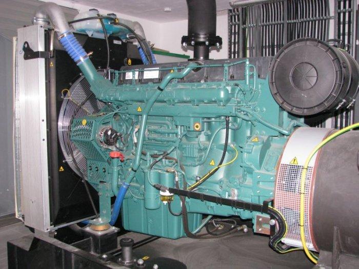 Fot. 1. Przykładowy widok zespołu prądotwórczego o mocy 560kVA