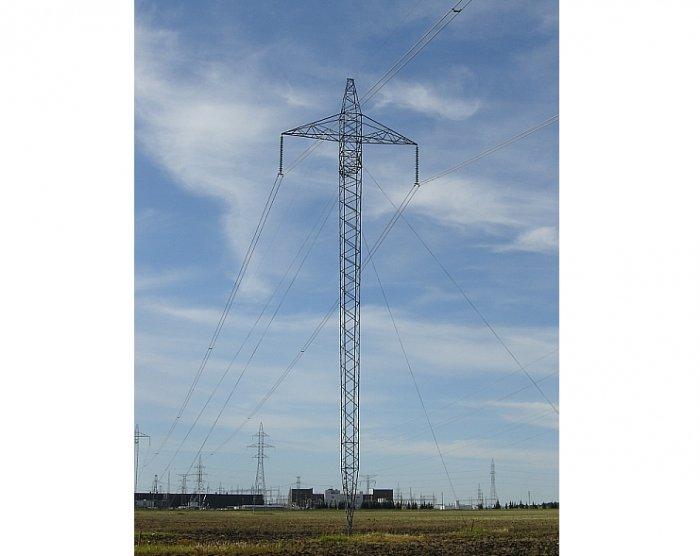 Maszt linii napowietrznej HVDC [7]