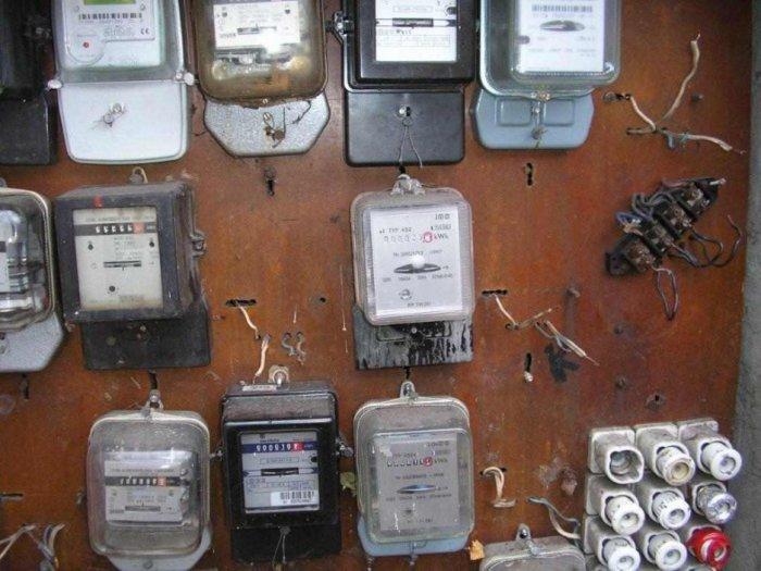 Tablica pomiarowa garaży samochodowych