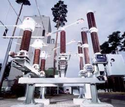 Fot.1. Pole modułowe SIMOBREAKER 145kV/2000 A/40kA