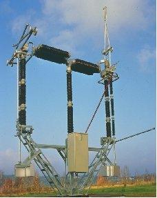 Fot.2. Biegun modułu HPL-Compact 420kV/4000 A/50kA