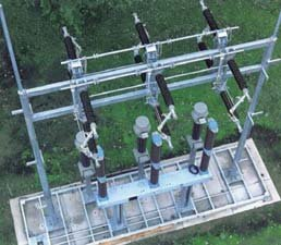 Fot. 3. Pole modułowe MUW 145kV/2000A/40kA