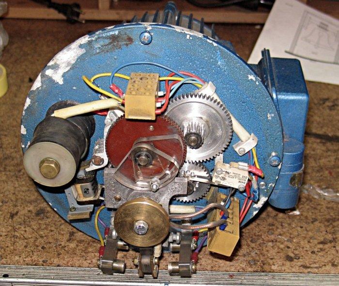 Sterowanie mechaniczne napędu dzwonu, system Diegner-Schade