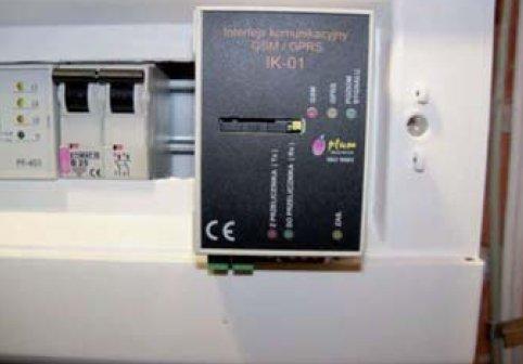 Fot.2. Zdjęcie przedstawia zastosowany interfejs komunikacyjny IK-01