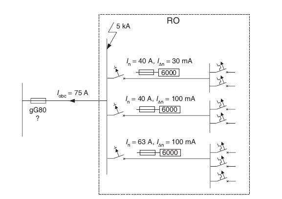 Rys. 3.Schemat instalacji do analizowanego przykładu