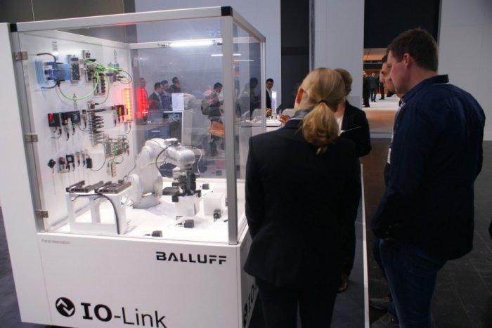 Hannover Messe - 24-28.04.2017 - stoisko Balluff.