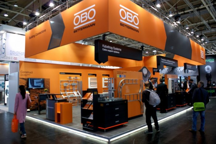 Hannover Messe - 24-28.04.2017 - stoisko firmy OBO Bettermann.