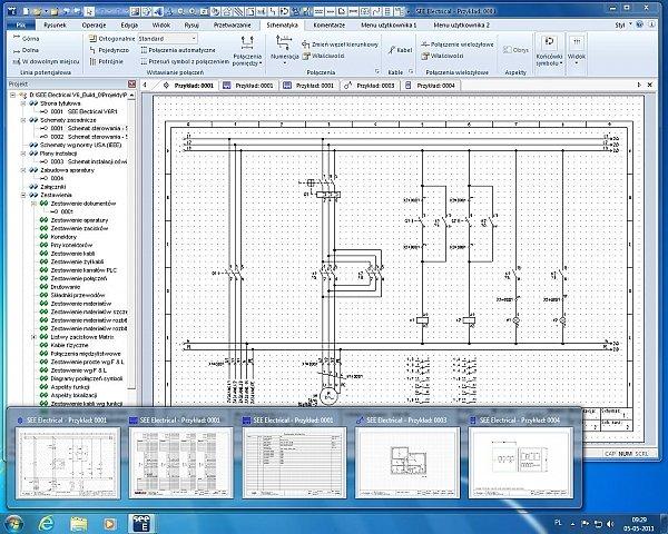 interfejs programu see electronical