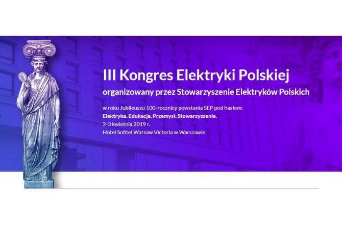 III Kongres Elektryki Polskiej Fot. SEP