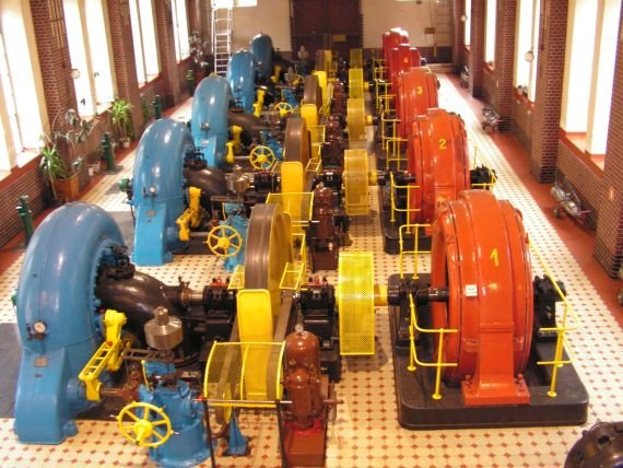 Leśna - hala generatorów