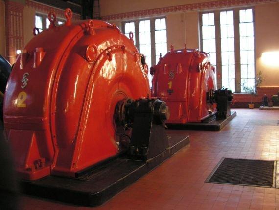 Złotniki - hala generatorów