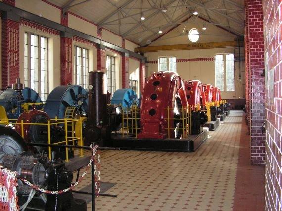Pilchowice I- hala generatorów