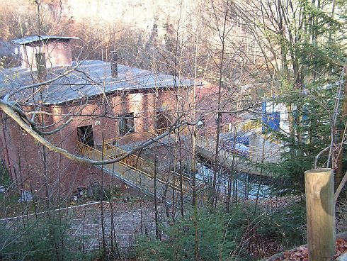 Bobrowice III oraz IV - widok budynków elektrowni