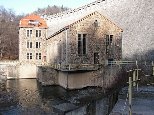 Pilchowice - budynek elektrowni