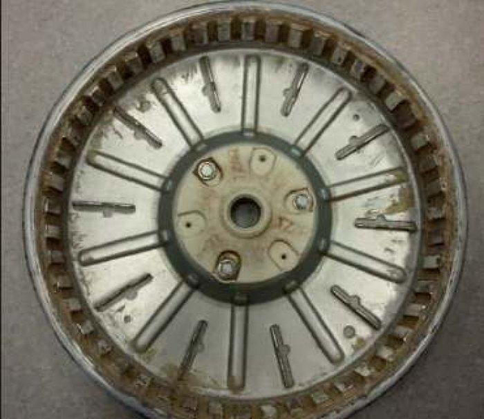 Rys. 4. Wirnik z magnesami neodymowymi