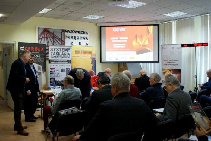 """Konferencja """"Instalacje i urządzenia elektryczne a pożar. Niezawodność zasilania w energię elektryczną"""""""
