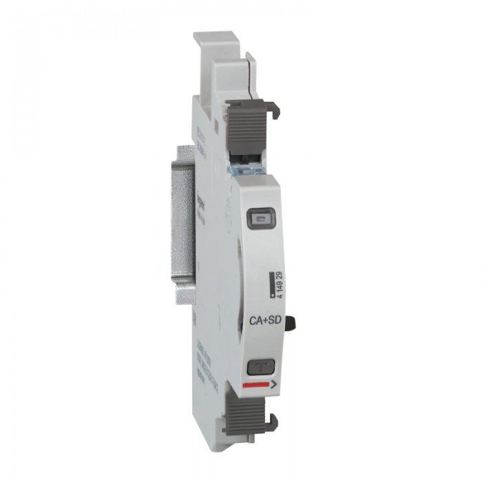 Moduły sygnalizacji stanu – styk pomocniczy/sygnalizacyjny dla aparatów modułowych oraz uniwersalny moduł sygnalizacji stanu.