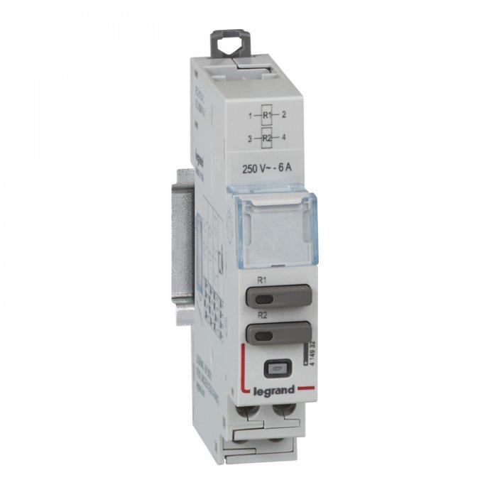 Moduły sterowania – uniwersalny moduł sterowania oraz moduł sterowania i sygnalizacji dla styczników modułowych SM 400 i przekaźników bistabilnych PB 400.