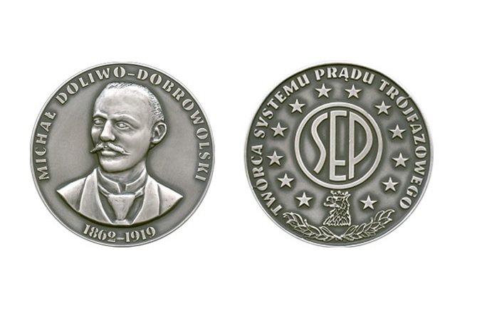Medal im. inż. Michała Doliwo-Dobrowolskiego. SEP