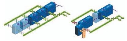 Rys. 1. Systemy UPS skalowalne i modułowe umożliwiają łatwą rozbudowę i optymalizację zarówno kosztów inwestycyjnych, jak i eksploatacyjnych