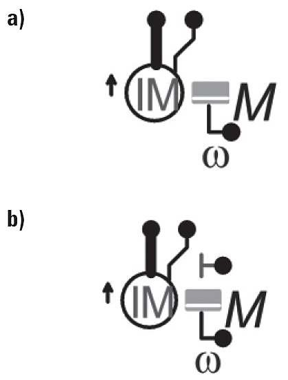Rys. 1. Symbole graficzne modelu silnika indukcyjnego w programie AtpDraw v. 5.8