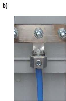Fot. 14. Sposoby przyłączenia kabli w złączach niskiego napięcia za pomocą zacisku