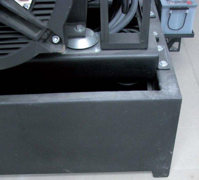 Fot. 1. Przykład wibroizolatora mocującego układ napędowy zespołu prądotwórczego