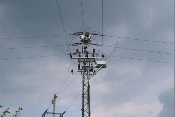 Dwa reklozery KTR zabudowane na słupie kratowym Tavrida Electric Polska sp. z o.o.