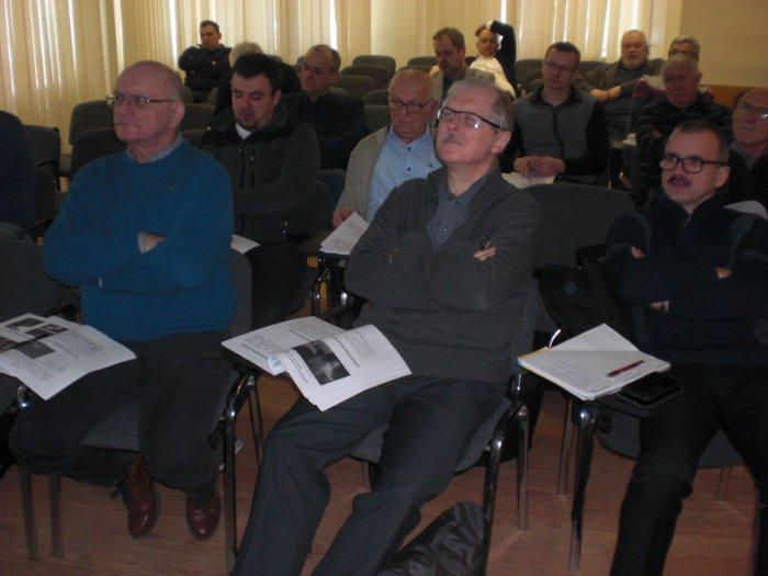 Podczas szkolenia w siedzibie MOIIB w Warszawie