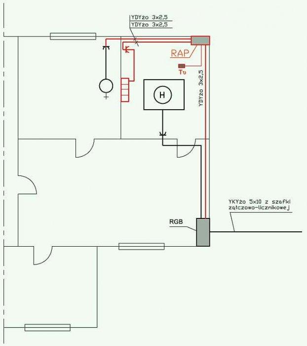 Rys. 1. Plan projektowanej instalacji; rys. J. Wiatr