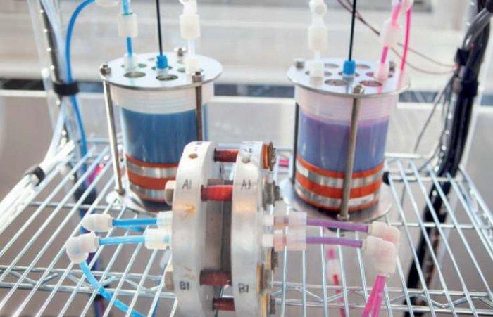 Fot. 3.  Prototyp organicznego ogniwa przepływowego [34]