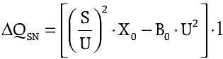 b kompensacja mocy biernej wzor2