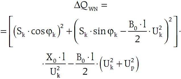 b kompensacja mocy biernej wzor3