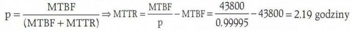 b problematyka niezawodnosci data center wzor6 1