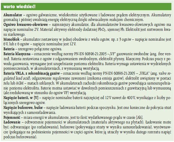 ei 6 2009 regeneracja stacjonarnych wartowiedziec