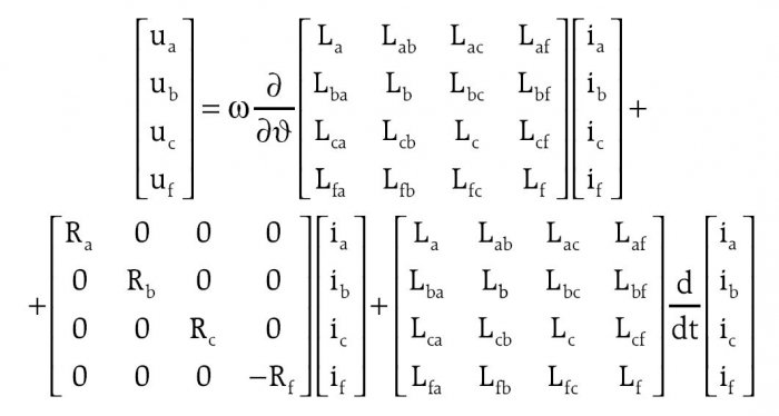 elektro info 09 2013 odwzorowanie indukcyjnosci wzajemnych w modelu wzor7