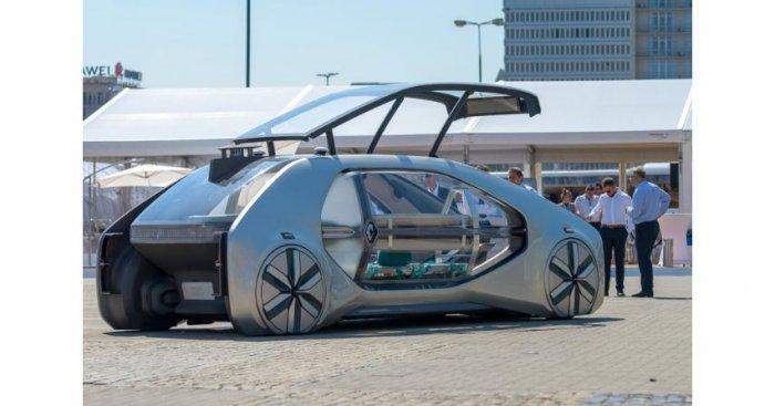 Renault EZ-GO – pierwszy współdzielony pojazd autonomiczny o napędzie elektrycznym