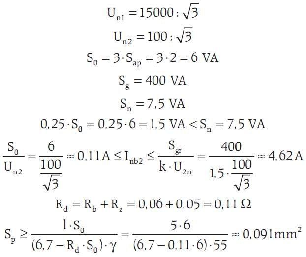 b uproszczony projekt przylacza wzor19