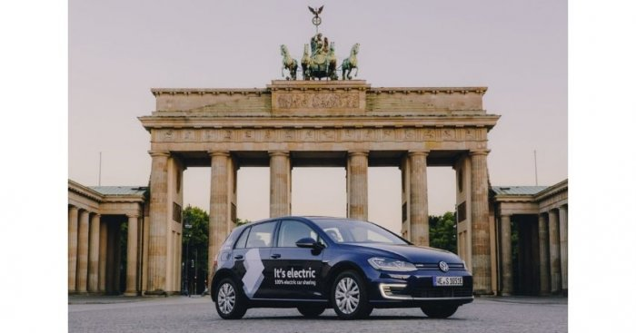 Car sharing Volkswagena wystartował w Niemczech