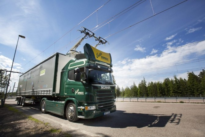 Elektryczna autostrada w Niemczech dla ciężarówek Fot. gramwzielone.pl