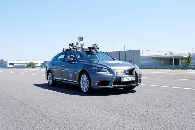Test autonomicznego samochodu
