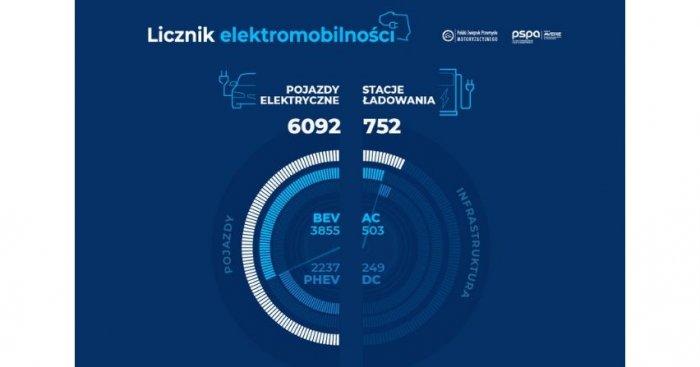 Liczba zarejestrowanych pojazdów elektrycznych pod koniec czerwca 2019 r.