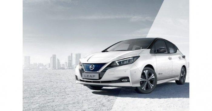 Samochody elektryczne dotarły do Szczecina Fot. Nissan